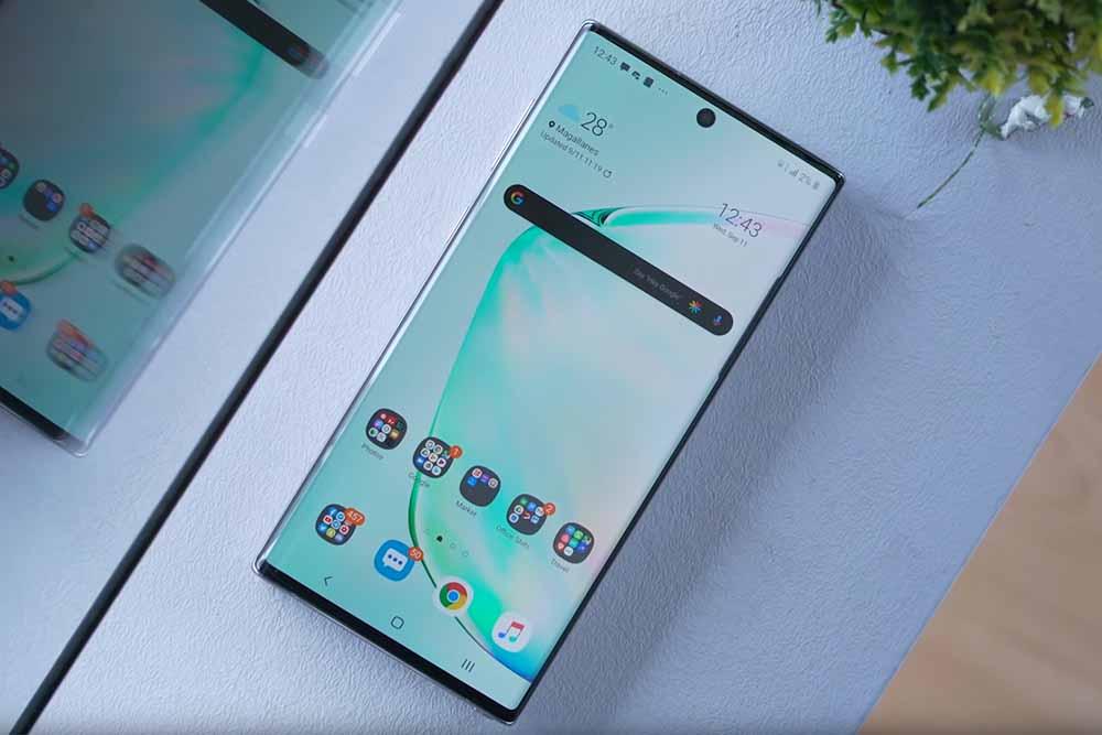 Samsung Galaxy Note 10 - 8- Maćoni